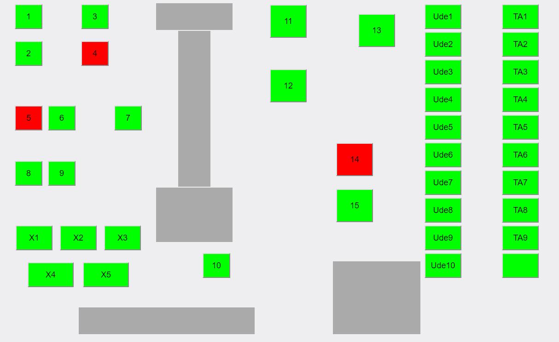 Bordplan restaurant Kassesystem til restaurant, café og bar